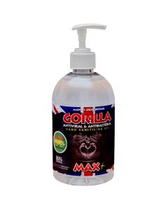 Gorilla Anti Viral/Anti Bac Hand Sanitiser Gel 500ml