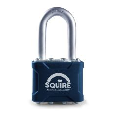 "Squire 35/1.5KA - Stronglock Pin Tumbler 40mm Laminated Double Locking Padlock - Long Shackle 1.5"" - Keyed Alike"