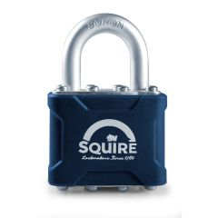 Squire 35MK - Stronglock Pin Tumbler 40mm Laminated Double Locking Padlock - Open Shackle - Master Keyed