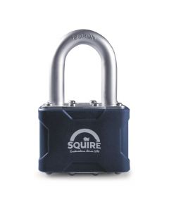 "Squire 39/1.5KA - Stronglock Pin Tumbler 50mm Laminated Double Locking Padlock - Long Shackle 1.5"" - Keyed Alike"