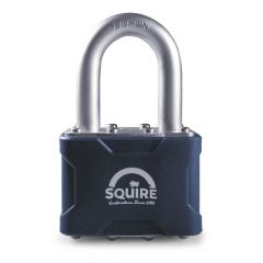 "Squire 39/1.5MK - Stronglock Pin Tumbler 50mm Laminated Double Locking Padlock - Long Shackle 1.5"" - Master Keyed"
