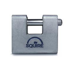 Squire ASWL1KA - Warehouse Lock Range - Small 60mm Armoured Brass Block Padlock - Keyed Alike