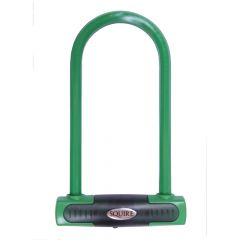 Squire Eiger Green - Eiger D lock - 230mm Shackle - Green