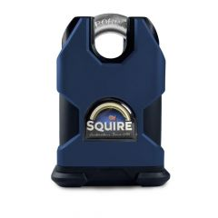 Squire SS50CEM - Stronghold 50mm Hardened Steel Padlock (Body Only) - Closed Shackle - Accepts any Modified 71mm Double Euro Cylinder