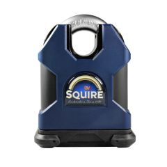Squire SS65CSKA Restricted Profile - Stronghold 65mm Hardened Steel Padlock - Closed Shackle - Keyed Alike