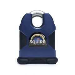 Squire SS80CS - Stronghold 80mm Hardened Steel Padlock - Closed Shackle