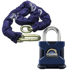 Squire SS80S - Stronghold 80mm Hardened Steel Padlock - Open Shackle