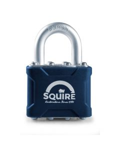 Squire 35 - Stronglock Pin Tumbler 40mm Laminated Double Locking Padlock - Open Shackle