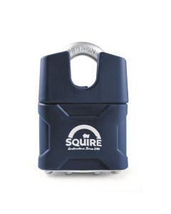 Squire 37CSMK - Stronglock Pin Tumbler 45mm Laminated Double Locking Padlock - Closed Shackle - Master Keyed