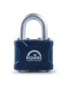 Squire 37MK - Stronglock 4 Pin Tumbler 45mm Laminated Double Locking Padlock - Open Shackle - Master Keyed