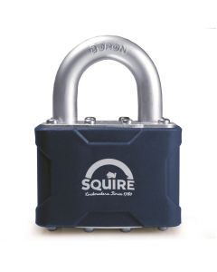 Squire 39 - Stronglock Pin Tumbler 50mm Laminated Double Locking Padlock - Open Shackle