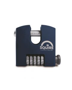 Squire SHCB75 - SHCB High Security Recodable 75mm Block Combination Padlock - 5 wheel