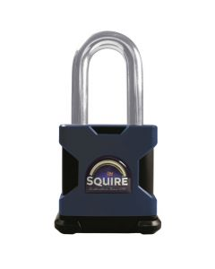 "Squire SS65S/2.5KA - Stronghold 65mm Hardened Steel Padlock - Long Shackle 2.5"" - Keyed Alike"