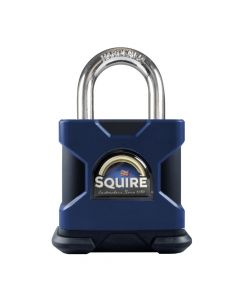 Squire SS100SKA - Stronghold 100mm Hardened Steel Padlock - Open Shackle - Keyed Alike