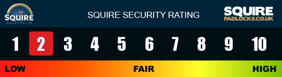 Squire Padlock Security Rating