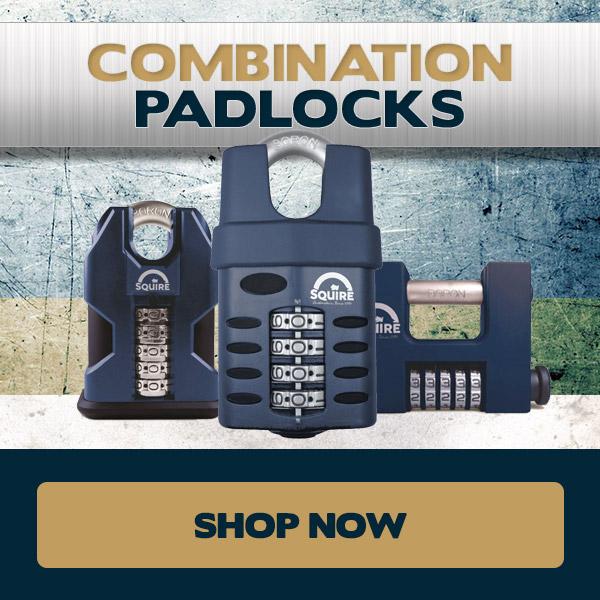 Squire Combination Padlocks