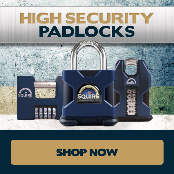 Squire High Security Padlocks