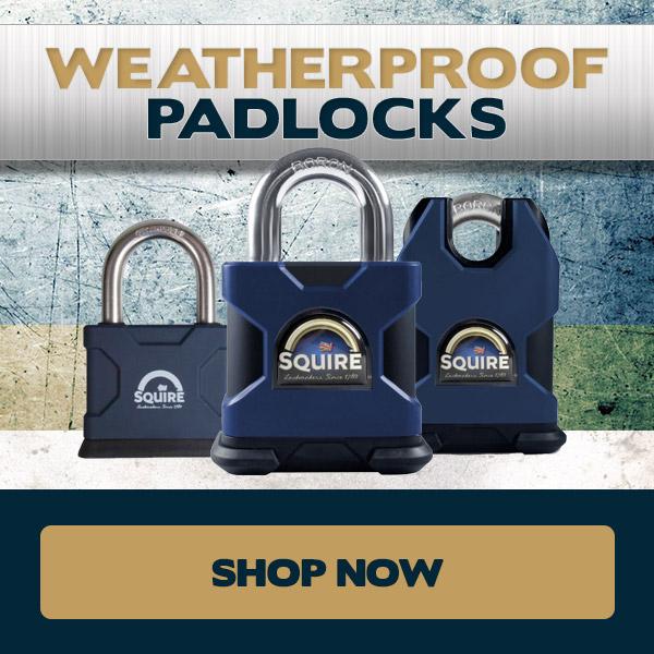 Squire Weatherproof Padlocks