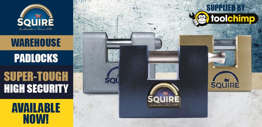 Squire Warehouse Padlocks